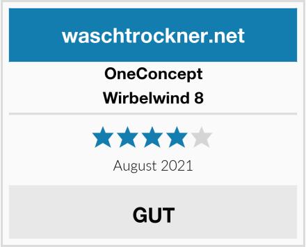 OneConcept Wirbelwind 8 Test