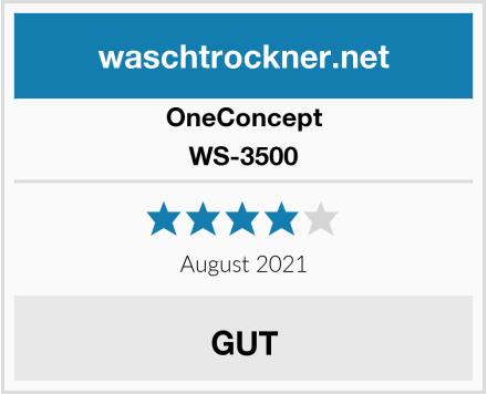 OneConcept WS-3500 Test