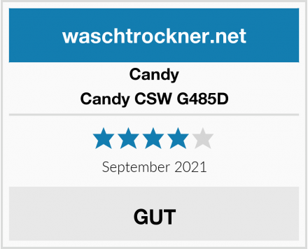 Candy Candy CSW G485D Test
