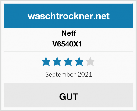 Neff V6540X1  Test