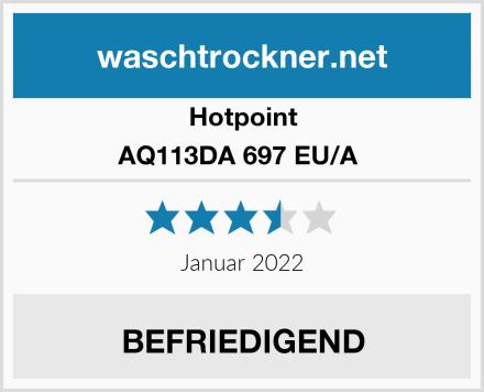 Hotpoint AQ113DA 697 EU/A  Test
