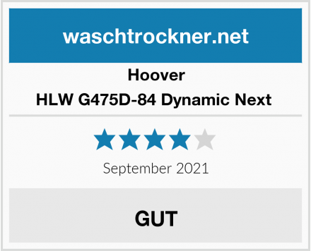 Hoover HLW G475D-84 Dynamic Next  Test
