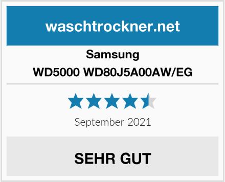 Samsung WD5000 WD80J5A00AW/EG Test