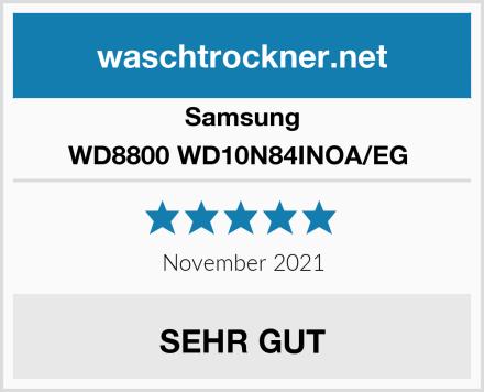 Samsung WD8800 WD10N84INOA/EG  Test