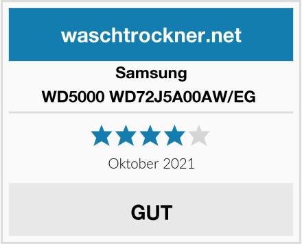 Samsung WD5000 WD72J5A00AW/EG  Test