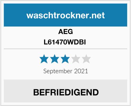 AEG L61470WDBI  Test