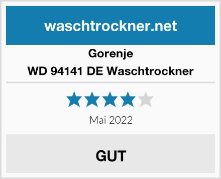 Gorenje WD 94141 DE Waschtrockner Test
