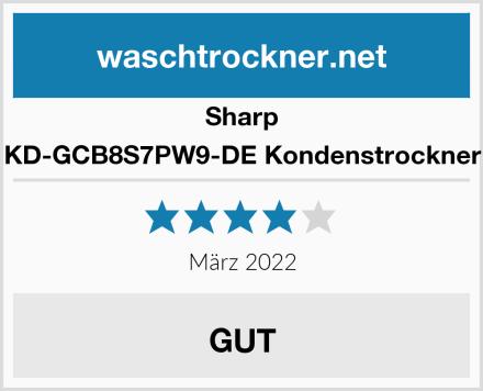 Sharp KD-GCB8S7PW9-DE Kondenstrockner Test