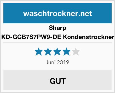 Sharp KD-GCB7S7PW9-DE Kondenstrockner Test