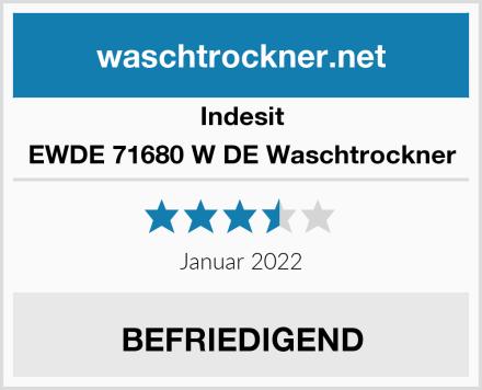 Indesit EWDE 71680 W DE Waschtrockner Test