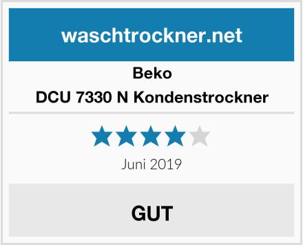 Beko DCU 7330 N Kondenstrockner Test