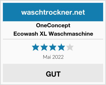 OneConcept Ecowash XL Waschmaschine Test