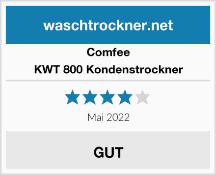 Comfee KWT 800 Kondenstrockner Test