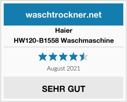 Haier HW120-B1558 Waschmaschine Test