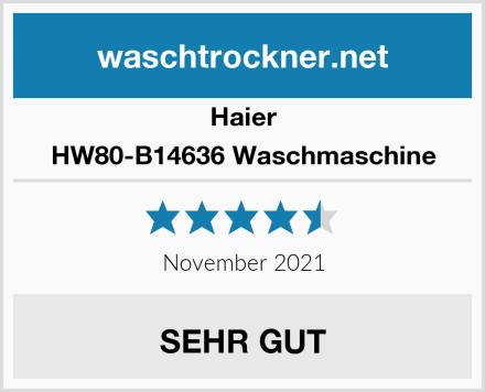 Haier HW80-B14636 Waschmaschine Test