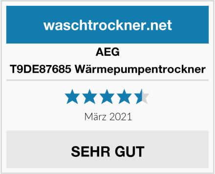 AEG T9DE87685 Wärmepumpentrockner Test