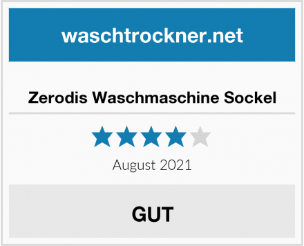 Zerodis Waschmaschine Sockel Test