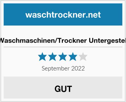 Waschmaschinen/Trockner Untergestell Test