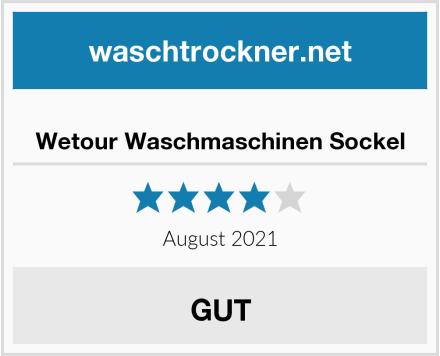 Wetour Waschmaschinen Sockel Test