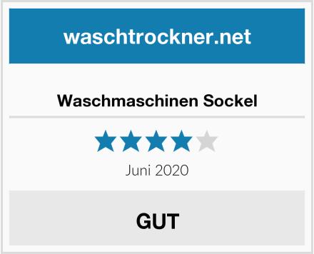 No Name Waschmaschinen Sockel Test