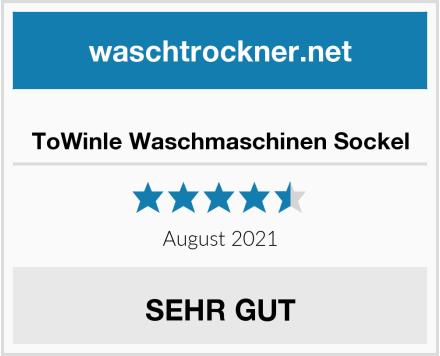 ToWinle Waschmaschinen Sockel Test
