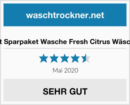 3er Set Sparpaket Wasche Fresh Citrus Wäscheduft Test