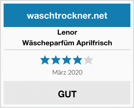 Lenor Wäscheparfüm Aprilfrisch Test