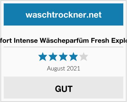 Comfort Intense Wäscheparfüm Fresh Explosion Test