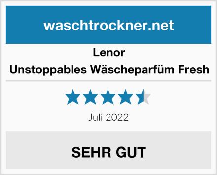Lenor Unstoppables Wäscheparfüm Fresh Test