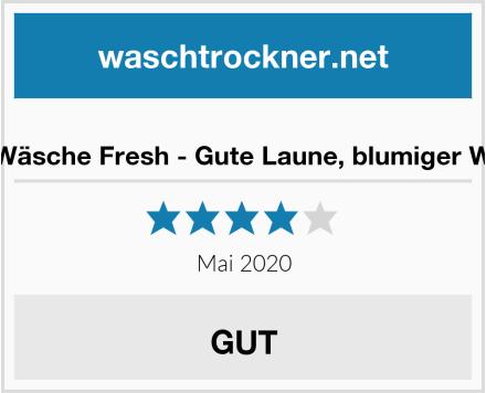 NaturGut Wäsche Fresh - Gute Laune, blumiger Wäscheduft Test