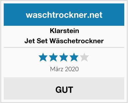Klarstein Jet Set Wäschetrockner Test