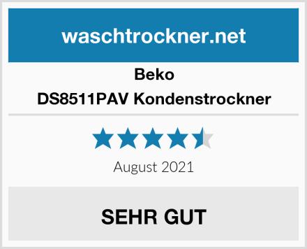 Beko DS8511PAV Kondenstrockner Test