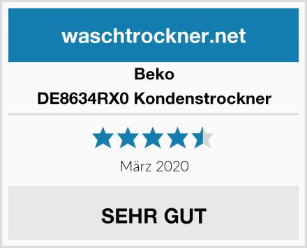 Beko DE8634RX0 Kondenstrockner Test
