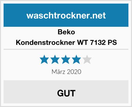 Beko Kondenstrockner WT 7132 PS Test