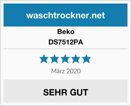 Beko DS7512PA Test
