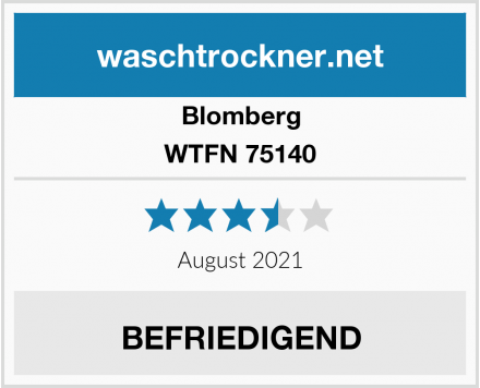 Blomberg WTFN 75140 Test