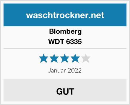 Blomberg WDT 6335 Test
