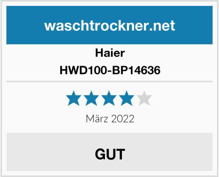 Haier HWD100-BP14636 Test