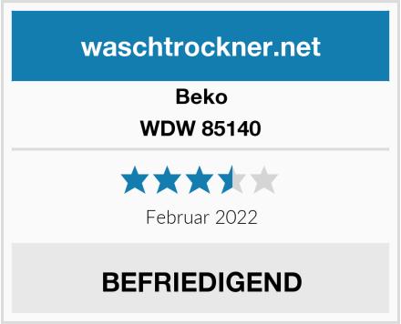 Beko WDW 85140 Test