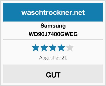 Samsung WD90J7400GWEG Test