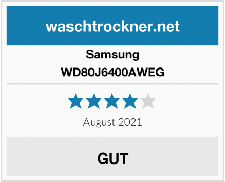 Samsung WD80J6400AWEG Test
