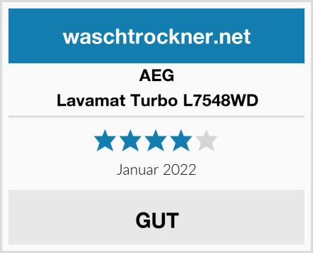 AEG Lavamat Turbo L7548WD Test