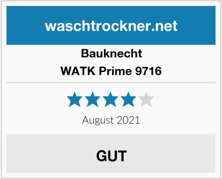 Bauknecht WATK Prime 9716 Test