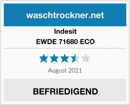 Indesit EWDE 71680 ECO Test