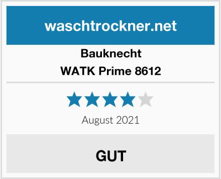 Bauknecht WATK Prime 8612 Test