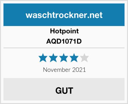 Hotpoint AQD1071D Test
