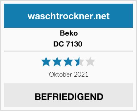 Beko DC 7130  Test