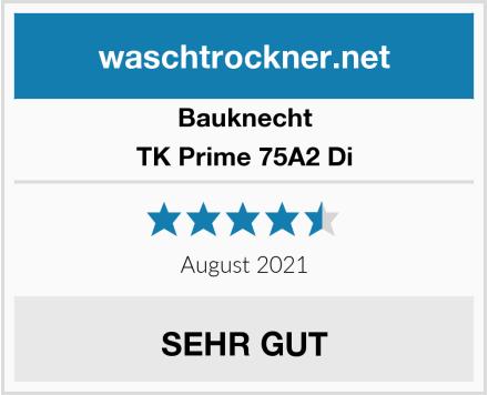 Bauknecht TK Prime 75A2 Di Test