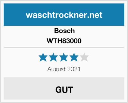 Bosch WTH83000 Test