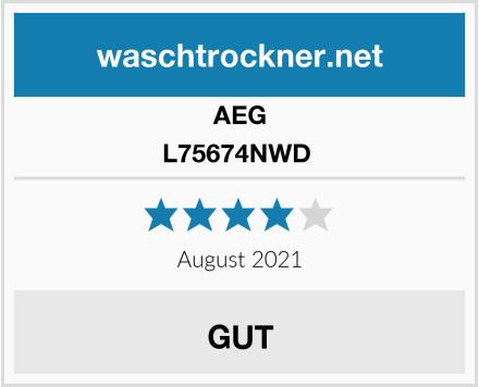 AEG L75674NWD  Test